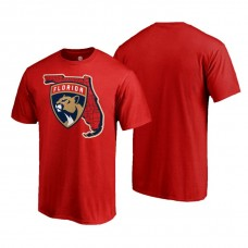 Florida Panthers Hometown Collection Local Red T-Shirt