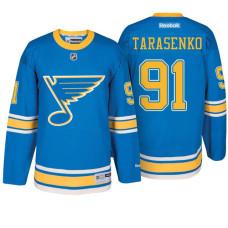 St. Louis Blues #91 Vladimir Tarasenko Blue Premier Jersey