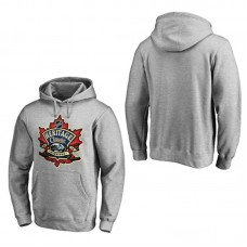 2016 Heritage Classic Heather Gray Pullover Hoodie