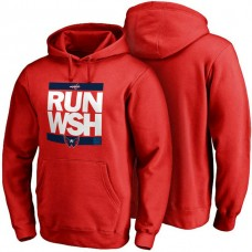 Mens Washington Capitals Red RUN-CTY Pullover Hoodie