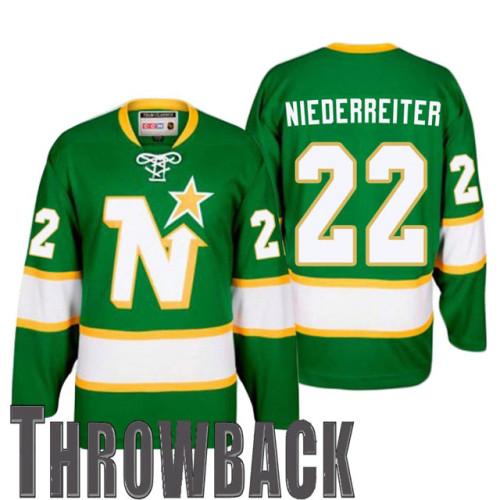 outlet store e9018 d3ee4 Minnesota Wild #22 Nino Niederreiter Green Minnesota North ...