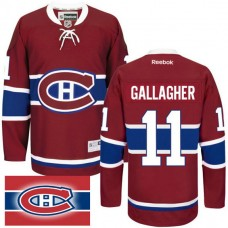 Montreal Canadiens #11 Brendan Gallagher Red Home Premier Jersey
