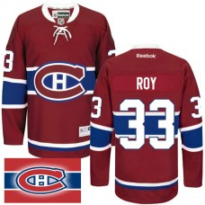 Montreal Canadiens #33 Patrick Roy Red Home Premier Jersey