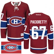Montreal Canadiens #67 Max Pacioretty Red Home Premier Jersey