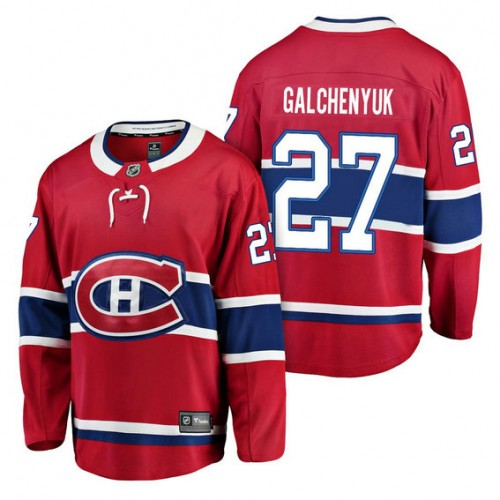save off 73bbb e51ea Montreal Canadiens #27 Breakaway Player Alex Galchenyuk ...