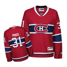 Women's Montreal Canadiens Carey Price #31 Red Home Jersey