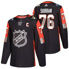Nashville Predators #76 P.K. Subban 2018 All Star Jersey