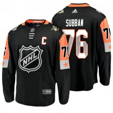 Nashville Predators #76 P.K. Subban 2018 All Star Captain Jersey