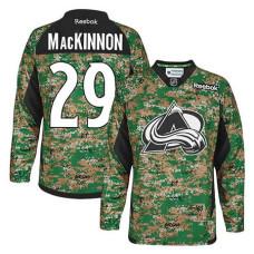 Colorado Avalanche Nathan MacKinnon #29 Camo Veteran's Day Jersey