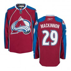 Colorado Avalanche Nathan MacKinnon #29 Burgundy Red Home Jersey
