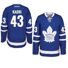 Nazem Kadri Toronto Maple Leafs #43 Royal Home Premier Jersey