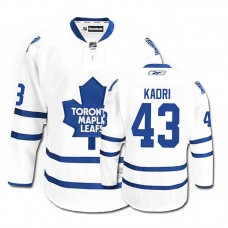 Youth Toronto Maple Leafs Nazem Kadri #43 White Away Jersey