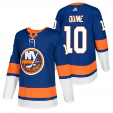 New York Islanders #10 Alan Quine Royal 2018 New Season Authentic Team Home Jersey