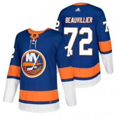 New York Islanders #72 Anthony Beauvillier Royal 2018 New Season Authentic Team Home Jersey