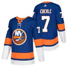 New York Islanders #7 Jordan Eberle Royal 2018 New Season Player Home Jersey