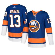 New York Islanders #13 Royal Authentic Home Mathew Barzal Jersey
