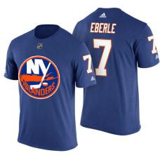 New York Islanders #7 Jordan Eberle Royal Blue Adidas Player Jersey Style T-shirt