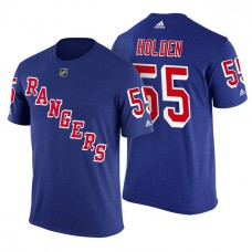 New York Rangers #55 Nick Holden Royal Adidas Player Jersey Style T-shirt