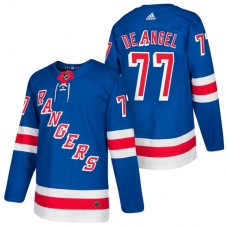 New York Rangers #77 Tony DeAngelo Royal 2018 New Season Player Home Jersey