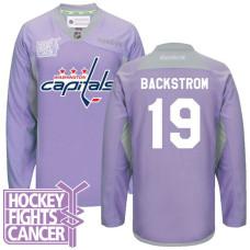 0e7118676 Nicklas Backstrom Washington Capitals  19 Purple Hockey Fights Cancer Jersey
