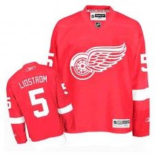 Detroit Red Wings Nicklas Lidstrom #5 Red Home Jersey
