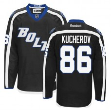 Tampa Bay Lightning Nikita Kucherov #86 Black Alternate Jersey