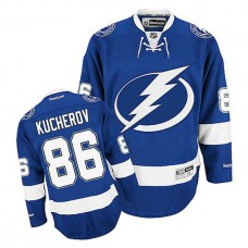 Tampa Bay Lightning Nikita Kucherov #86 Royal Blue Home Jersey