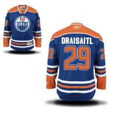 Edmonton Oilers Leon Draisaitl #29 Blue Home Premier Jersey