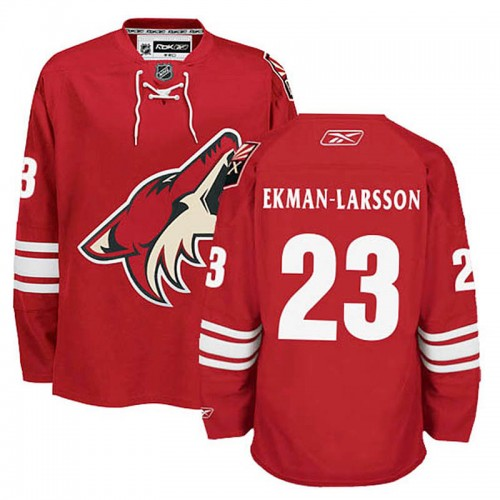 38a23de39 Arizona Coyotes Oliver Ekman-Larsson  23 Burgundy Red Highest-Paid Player  Home Jersey