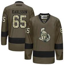 Ottawa Senators Erik Karlsson #65 Green Camo Player Jersey