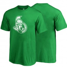 Youth Ottawa Senators Kelly Green the Day of the Festival of Patrick T-shirt