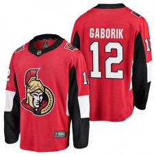 Ottawa Senators #12 Breakaway Player Marian Gaborik Jersey Red