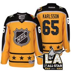 Ottawa Senators Erik Karlsson #65 Yellow La Kings All Star Jersey