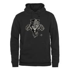 Florida Panthers Black Rink Warrior Fleece Pullover Hoodie