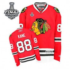 Youth Chicago Blackhawks Patrick Kane #88 Red 2015 Stanley Cup Home Jersey