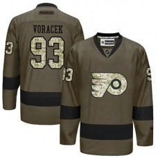 Philadelphia Flyers Jakub Voracek #93 Green Camo Player Jersey
