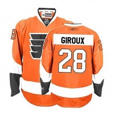 Philadelphia Flyers Claude Giroux #28 Orange Home Authentic Jersey