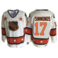 740a5cb68 Philadelphia Flyers  17 Wayne Simmonds White 1981 ALL Star Throwback Jersey