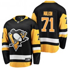 Pittsburgh Penguins #71 Breakaway Player Evgeni Malkin Jersey Black