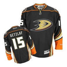 Youth Anaheim Ducks Ryan Getzlaf #15 Black Alternate Jersey