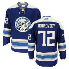 Columbus Blue Jackets Sergei Bobrovsky #72 Navy Blue Alternate Jersey