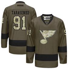 St. Louis Blues Vladimir Tarasenko #91 Green Camo Player Jersey
