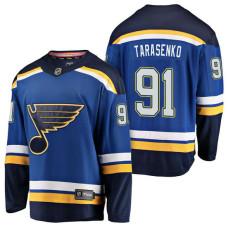 St. Louis Blues #91 Blue Breakaway Vladimir Tarasenko Home Jersey