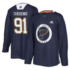St. Louis Blues #91 Navy New Season Practice Vladimir Tarasenko Jersey