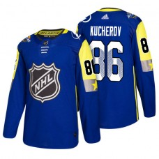 Tampa Bay Lightning #86 Nikita Kucherov 2018 All Star Jersey