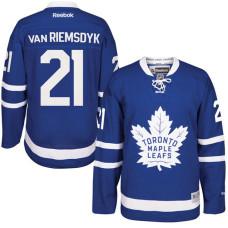 Toronto Maple Leafs #21 James Van Riemsdyk Royal Home Premier Jersey
