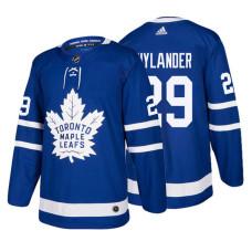 Toronto Maple Leafs #29 William Nylander Royal 2017-2018 Adidas Home Jersey