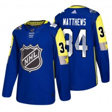 Toronto Maple Leafs #34 Auston Matthews 2018 All Star Jersey