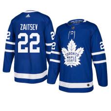 Toronto Maple Leafs #22 Royal Authentic Home Nikita Zaitsev Jersey