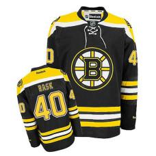 Youth Boston Bruins Tuukka Rask #40 Black Home Jersey